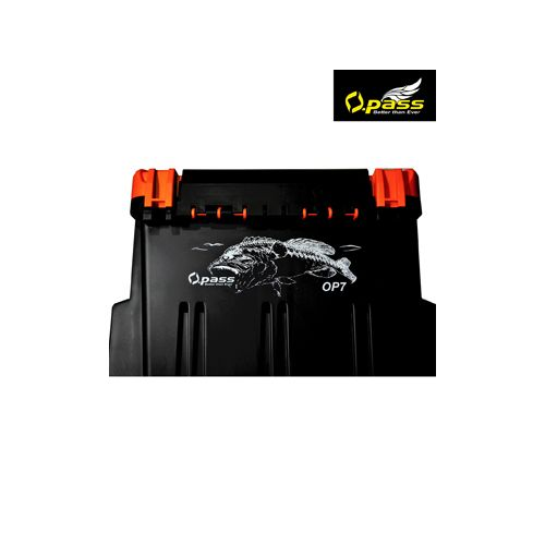 Opass OP7 Tackle Box (Col : Orange)