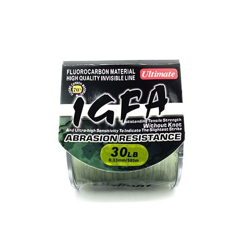 ULTIMATE IGFA CASTING MONOFILAMENT (COL : GREEN / 40LB / DIA : 0.44 / QTY : 300M)