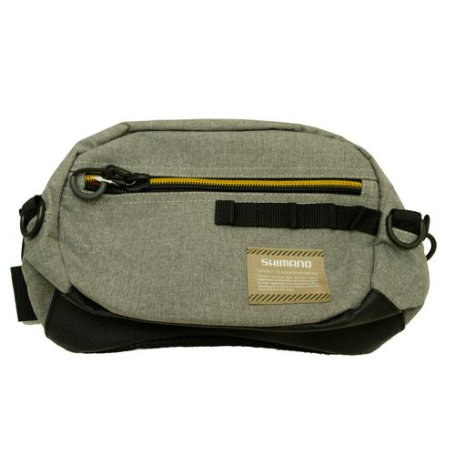 Shimano Hip Sling Bag (Series: WV-024R / Col: Grey)
