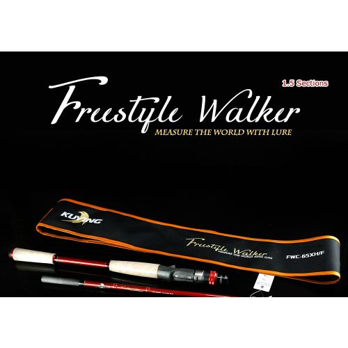 KUYING Freestyle Walker FWC-65XH/F Casting Rod [Length: 1.95m]