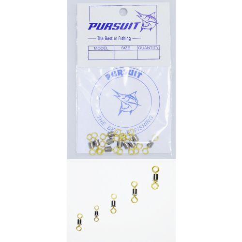 Pursuit Dual Colored Rolling Swivel