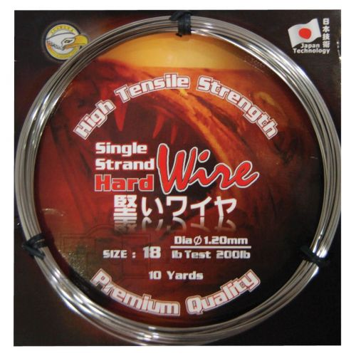 SEAHAWK HIGH TENSILE STRENGTH SINGLE STRAND HARD STAINLESS STEEL WIRE